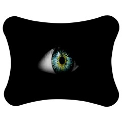 Eye On The Black Background Jigsaw Puzzle Photo Stand (bow)