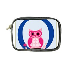 Alphabet Letter O With Owl Illustration Ideal For Teaching Kids Coin Purse by Nexatart