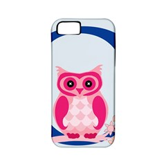 Alphabet Letter O With Owl Illustration Ideal For Teaching Kids Apple Iphone 5 Classic Hardshell Case (pc+silicone) by Nexatart
