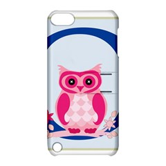 Alphabet Letter O With Owl Illustration Ideal For Teaching Kids Apple Ipod Touch 5 Hardshell Case With Stand by Nexatart