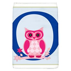 Alphabet Letter O With Owl Illustration Ideal For Teaching Kids Flap Covers (l)  by Nexatart