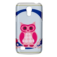 Alphabet Letter O With Owl Illustration Ideal For Teaching Kids Galaxy S4 Mini by Nexatart