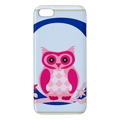 Alphabet Letter O With Owl Illustration Ideal For Teaching Kids Iphone 5s/ Se Premium Hardshell Case by Nexatart