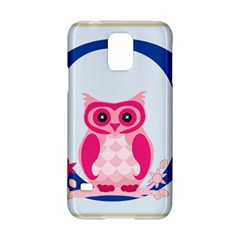 Alphabet Letter O With Owl Illustration Ideal For Teaching Kids Samsung Galaxy S5 Hardshell Case  by Nexatart