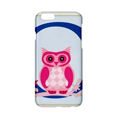 Alphabet Letter O With Owl Illustration Ideal For Teaching Kids Apple Iphone 6/6s Hardshell Case by Nexatart