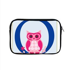 Alphabet Letter O With Owl Illustration Ideal For Teaching Kids Apple Macbook Pro 15  Zipper Case by Nexatart