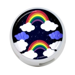 Rainbow Animation 4 Port Usb Hub (one Side) by Nexatart