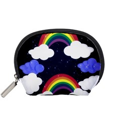 Rainbow Animation Accessory Pouches (small)  by Nexatart