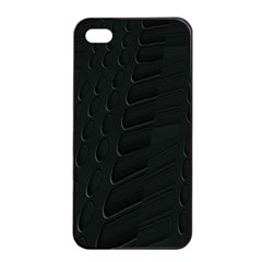 Abstract Clutter Apple Iphone 4/4s Seamless Case (black)