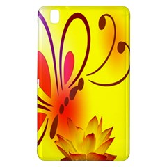 Butterfly Background Wallpaper Texture Samsung Galaxy Tab Pro 8 4 Hardshell Case
