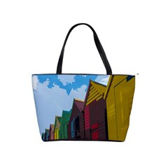 Brightly Colored Dressing Huts Shoulder Handbags
