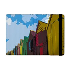 Brightly Colored Dressing Huts Apple Ipad Mini Flip Case by Nexatart
