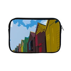 Brightly Colored Dressing Huts Apple Ipad Mini Zipper Cases by Nexatart