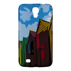 Brightly Colored Dressing Huts Samsung Galaxy Mega 6 3  I9200 Hardshell Case by Nexatart