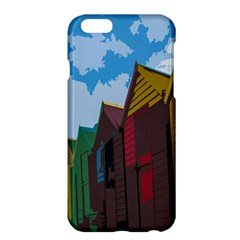 Brightly Colored Dressing Huts Apple Iphone 6 Plus/6s Plus Hardshell Case by Nexatart