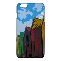Brightly Colored Dressing Huts Iphone 6 Plus/6s Plus Tpu Case by Nexatart