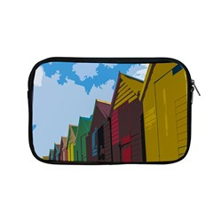 Brightly Colored Dressing Huts Apple Macbook Pro 13  Zipper Case by Nexatart