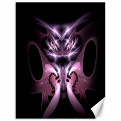 Angry Mantis Fractal In Shades Of Purple Canvas 12  X 16   by Nexatart