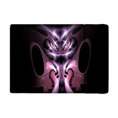 Angry Mantis Fractal In Shades Of Purple Apple Ipad Mini Flip Case