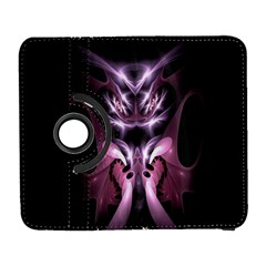 Angry Mantis Fractal In Shades Of Purple Galaxy S3 (flip/folio) by Nexatart