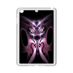 Angry Mantis Fractal In Shades Of Purple Ipad Mini 2 Enamel Coated Cases