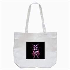 Angry Mantis Fractal In Shades Of Purple Tote Bag (white) by Nexatart