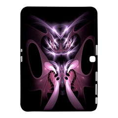 Angry Mantis Fractal In Shades Of Purple Samsung Galaxy Tab 4 (10 1 ) Hardshell Case  by Nexatart