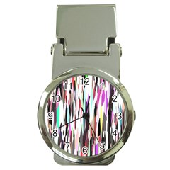 Randomized Colors Background Wallpaper Money Clip Watches by Nexatart