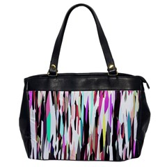 Randomized Colors Background Wallpaper Office Handbags