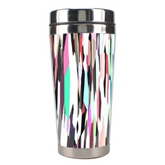 Randomized Colors Background Wallpaper Stainless Steel Travel Tumblers