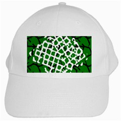 Abstract Clutter White Cap by Nexatart