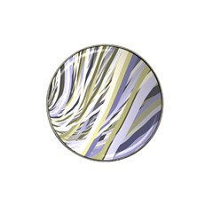Wavy Ribbons Background Wallpaper Hat Clip Ball Marker by Nexatart