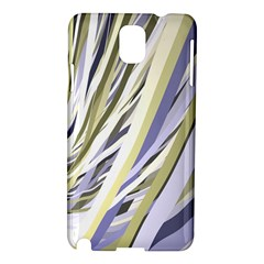 Wavy Ribbons Background Wallpaper Samsung Galaxy Note 3 N9005 Hardshell Case by Nexatart