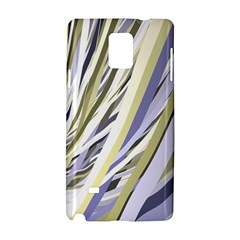 Wavy Ribbons Background Wallpaper Samsung Galaxy Note 4 Hardshell Case