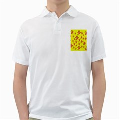 Autumn Background Golf Shirts