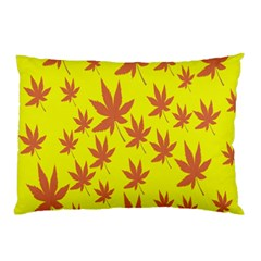 Autumn Background Pillow Case (two Sides) by Nexatart