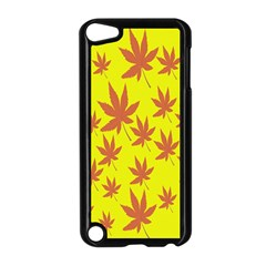 Autumn Background Apple Ipod Touch 5 Case (black) by Nexatart