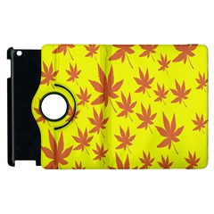 Autumn Background Apple Ipad 3/4 Flip 360 Case by Nexatart