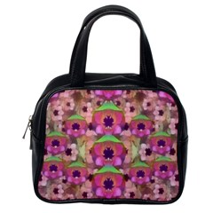 It Is Lotus In The Air Classic Handbags (one Side) by pepitasart