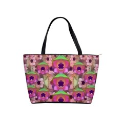 It Is Lotus In The Air Shoulder Handbags by pepitasart