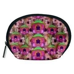 It Is Lotus In The Air Accessory Pouches (medium)  by pepitasart