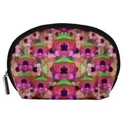 It Is Lotus In The Air Accessory Pouches (large)  by pepitasart