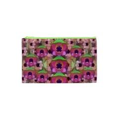 It Is Lotus In The Air Cosmetic Bag (xs) by pepitasart