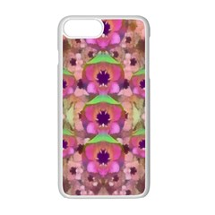 It Is Lotus In The Air Apple Iphone 7 Plus White Seamless Case by pepitasart