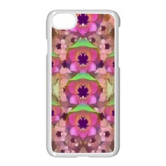 It Is Lotus In The Air Apple Iphone 7 Seamless Case (white) by pepitasart