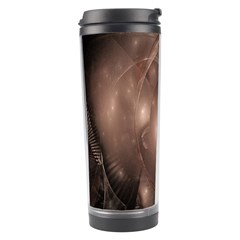 A Fractal Image In Shades Of Brown Travel Tumbler by Nexatart
