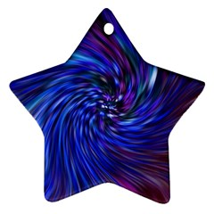 Stylish Twirl Ornament (star) by Nexatart