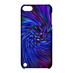 Stylish Twirl Apple Ipod Touch 5 Hardshell Case With Stand by Nexatart