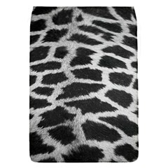 Black And White Giraffe Skin Pattern Flap Covers (s)