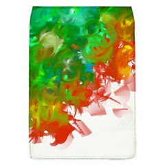 Digitally Painted Messy Paint Background Textur Flap Covers (l)  by Nexatart